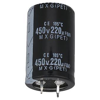 450V220UF Aluminium Radial Electrolytic Capacitor Lead Spacing 20MM