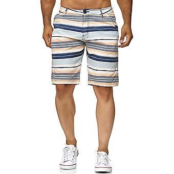Chino Shorts Casual Bermuda Capri 3/4 pantalones pantalones de 7/8 verano de los hombres rayada