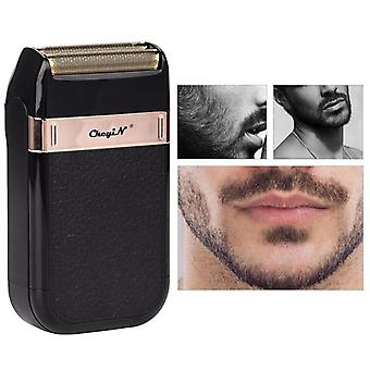 Portable coldless electric hair trimmer beard shaver for men