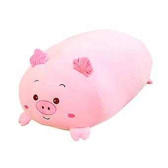 Pink Pig Shape Down Cotton Plush Toy