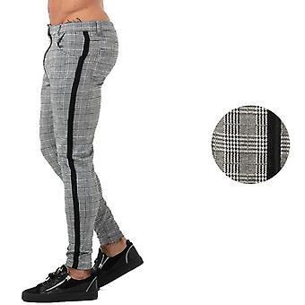 Pantaloni pentru barbati, Pantaloni Casual Skinny Super Stretch, Chinos Pant, Slim Fit, Casual