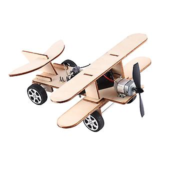 Electric Taxiing Aircraft Model Accessories DIY Science and Technology Small Inventions Scientific Experiments Science Toys