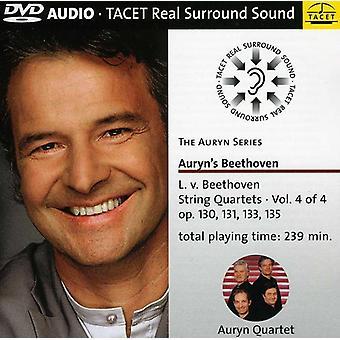 L.V. Beethoven - Beethoven: String Quartets, Vol. 4 [DVD-Audio] USA import