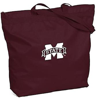Mississippi State Bulldogs NCAA Zipper Tote Bag