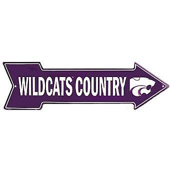 Señal de flecha de país de Kansas State Wildcats NCAA Wildcats
