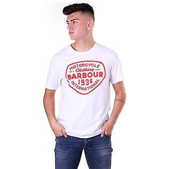 Barbour International Vintage Printed T Shirt