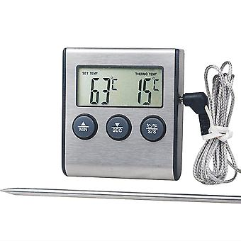 Tp700 Digital Remote Wireless Food Kitchen Oven Thermometer Probe For Bbq Grill