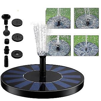 Floating Solar Garden Water Fountain