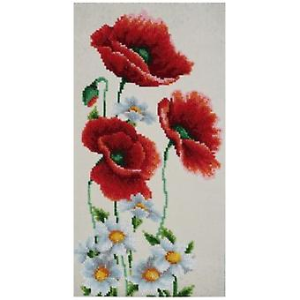 VDV Bead Embroidery Kit - Flowers of the Field TN-0792