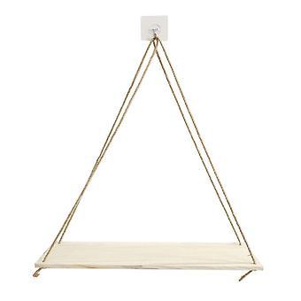 Pflanze Stand Premium Holz Schaukel Seil, Wand hängenschwimmende Regale / Pflanze
