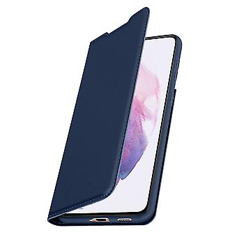 Cover Samsung Galaxy S21 Plus Function Video Holder Dux Ducis dark blue