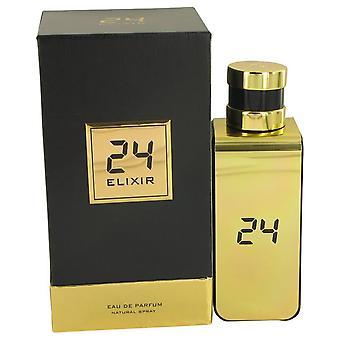 24 Gold Elixir Eau De Parfum Spray By Scentstory 3.4 oz Eau De Parfum Spray