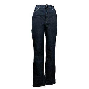 Gloria Vanderbilt Women's Jeans High Rise Tapered Leg w/ Pockets Blue