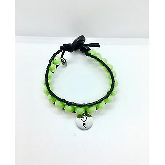Mental Health Bracelet With A Semicolon Charm