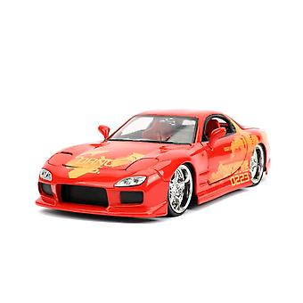 Fast and Furious '93 Mazda RX-7 1:24 Scale Hollywood Ride