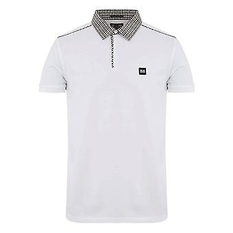 Weekend Offender 2111 Diani Check Collar Polo Half Sleeve T-shirt