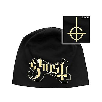 Ghost Beanie Hat Band Logo new Official Black Unisex Jersey Print