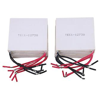 10piece 253W 62mm TEC1-12730 Thermoelectric Peltier Cooler for CPU Car