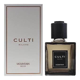 Culti Milano Decor Diffuser 250ml - Mountain - Sticks Not Included In The Box