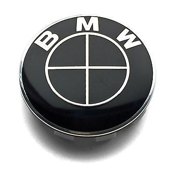1 PCS BMW Black Wheel Center Cap Badge Hub Center 56mm For G SERIES 1 3 5 SERIES