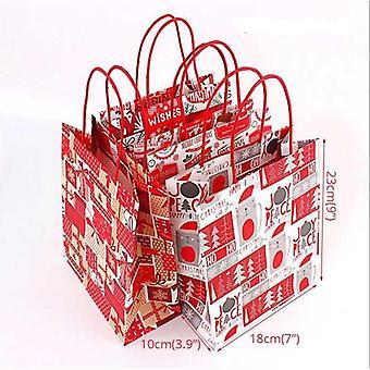 Frohe Weihnachten Plastik-Verpackungstasche