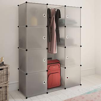 vidaXL Armoire modulaire avec 9 compartiments 37×115×150 cm