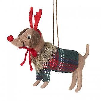 Heaven Sends Dog Christmas Decoration