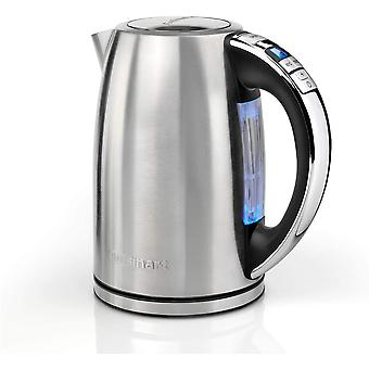 Signature Collection Multi-Temp Jug Kettle   1.7L Capacity   Stainless Steel   CPK17BPU