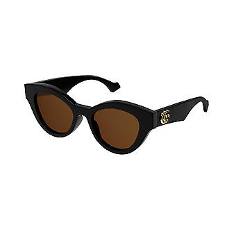 Gucci GG0957S 003 Black/Brown Sunglasses