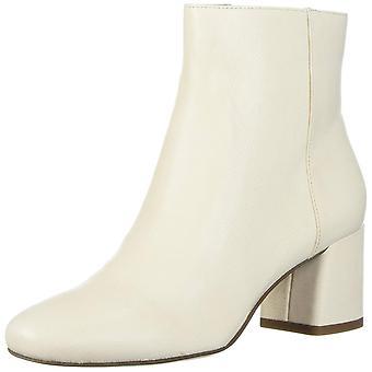 Franco Sarto Womens L-JUBILEE2-MILK LE Almond Toe Ankle Fashion Boots