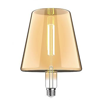 Classic Style Led Type L E27 Dimmable 220-240v 4w 2100k, 200lm, Amber Finish