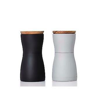 FengChun Set Pfeffer- und Salzmhle TWIN - hocheffiziente Keramikmahlwerk CeraCut