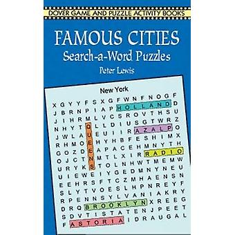 Famous Cities SearchaWord Puzzles von Peter Lewis