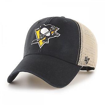 47 Marke Nhl Pittsburgh Penguins Flaggschiff Waschen Mvp Trucker Cap