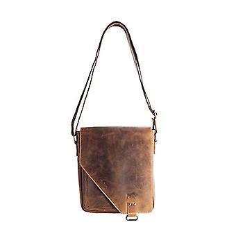 Arrigo 026B, Unisex Adult Shoulder Bag, Brown (Brown (Cognac Cognac)), 31x34x10 cm (B x H x T)