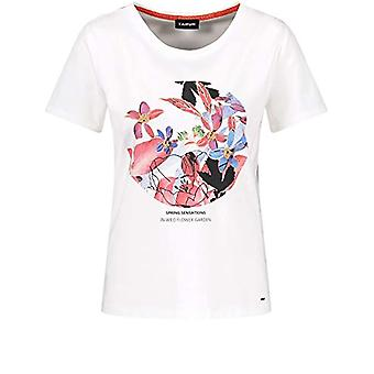 Taifun T-Shirt 1/2 Arm, White Pattern, 46 Woman(2)