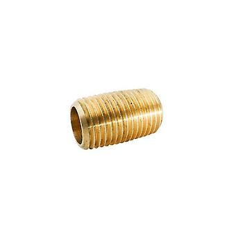 "BrassFittings 106CL4 0.25"" Close Nipple 112C"