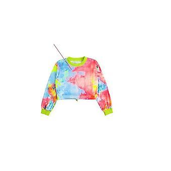Hip Hop Clothing Multicolor Sweatshirt