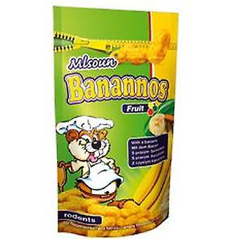 Novopet Bocados de plátano (Roedores , Snacks)