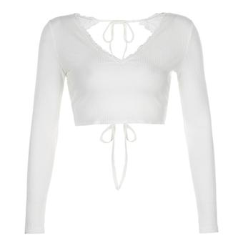 Top Short With Frills