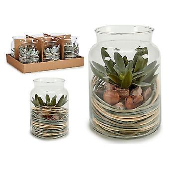 Glass Jar Green