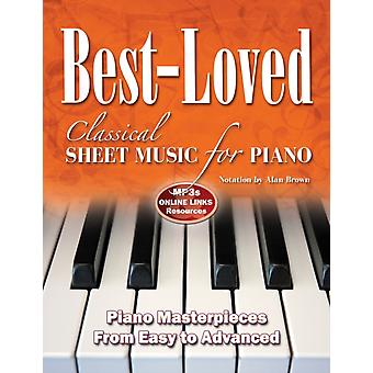 BestLoved Classical Sheet Music Fo by Adapted by Alan Brown