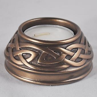 Celtic Candle Holder Bronze (Small)