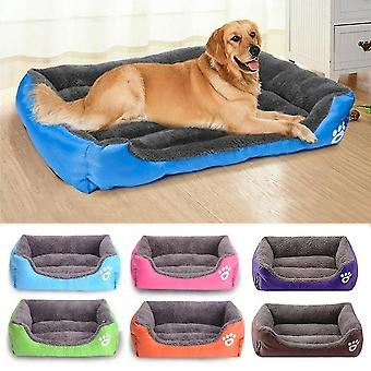 new s random waterproof large soft warm cozy pet cat dog bed basket mat sm64276