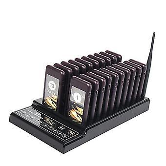 Système de file d'attente de radiomessagerie sans fil pour restaurant Coffee Shop