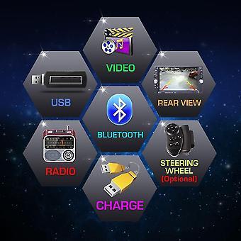7 1,5 palce dotyková obrazovka Auto Bluetooth Fm / mp5 Slot Aux Input DVD přehrávač