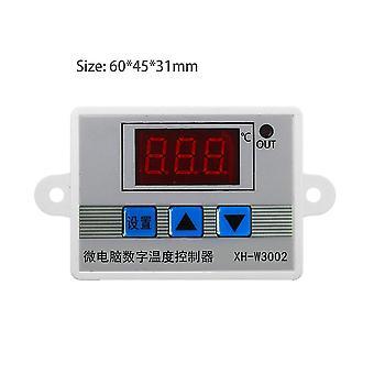 Contrôleur de température à LED numérique professionnel W3002 10a Régulateur de thermostat
