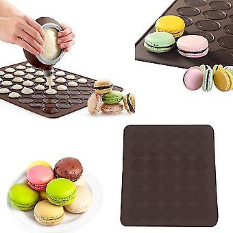 Grote 30 Macarons / muffins siliconen bakken gebak sheet Mat Cup Cake Mold Tray