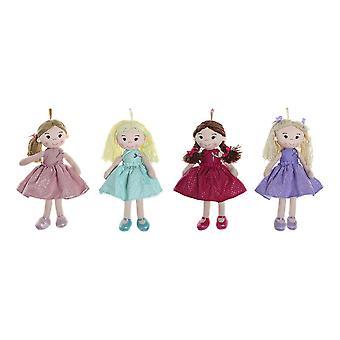 Rag Doll DKD Wohnkultur (4 Stück) (23 x 10 x 40 cm)