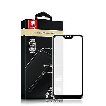 5D gehärtetes Glas Bildschirm Schutz für Huawei Y9 2019